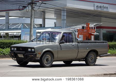 Private Old Pickup Car, Mitsubishi L200 First Generation