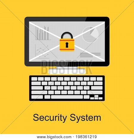 Security system . Data protection . Secure access