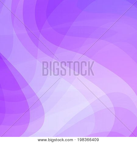 Blue Wavy Vector Background