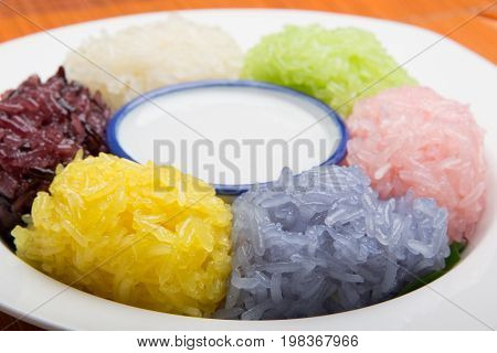 Dessert Sweet Sticky Rice