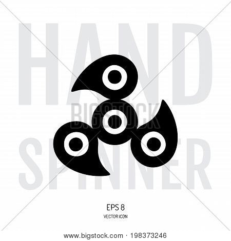 Hand Spinner Or Fidget Icon