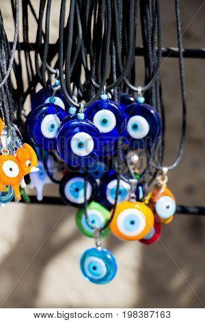 Evil Eye Bead As Amulet Souvenir