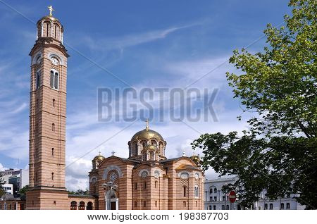 Serbian Orthodox Church of Holy Trinity in Banja Luka, Bosnia and Herzegovina