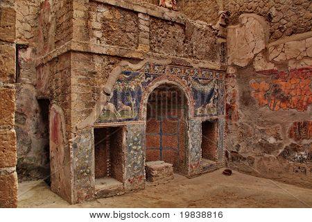 home interior pompei