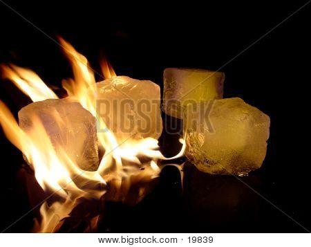 Burning Icecubes