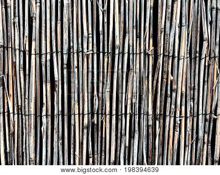 Wooden Straws Background