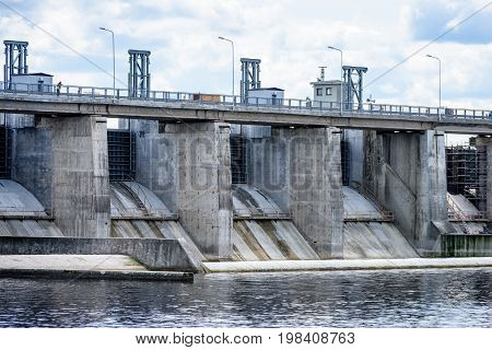 Hydro Electric Power Station Gates For Water