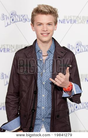 LOS ANGELES, CA - FEB 8: Actor Kenton Duty arrives at the Paramount Pictures Justin Bieber: Never Say Never premiere at Nokia Theater L.A. Live on February 8, 2011 in Los Angeles, California.
