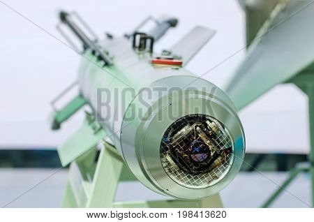Missiles Weapons With Guidance And A Wide Range Of Vision