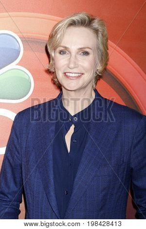 LOS ANGELES - AUG 3:  Jane Lynch at the NBC TCA Press Day Summer 2017 at the Beverly Hilton Hotel on August 3, 2017 in Beverly Hills, CA