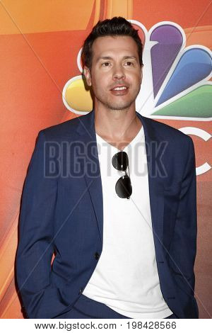 LOS ANGELES - AUG 3:  Jon Seda at the NBC TCA Press Day Summer 2017 at the Beverly Hilton Hotel on August 3, 2017 in Beverly Hills, CA