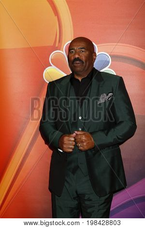 LOS ANGELES - AUG 3:  Steve Harvey at the NBC TCA Press Day Summer 2017 at the Beverly Hilton Hotel on August 3, 2017 in Beverly Hills, CA