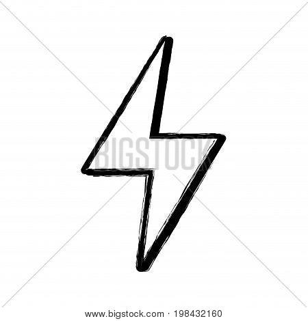figure energy hazard symbol design image vector illustration