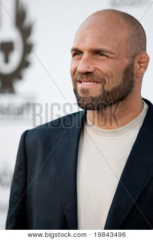 HOLLYWOOD, CA. - AUG 3: UFC Hall of Fame fighter Randy