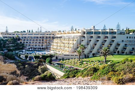 Hotel Tivoli Almansor Portugal Algarve Resort view.