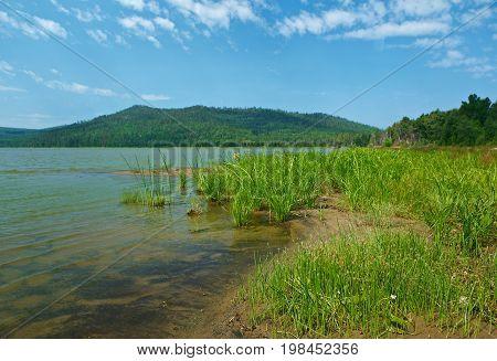 mountain lake Kotokel.Buryatia Russia siberia summer travel