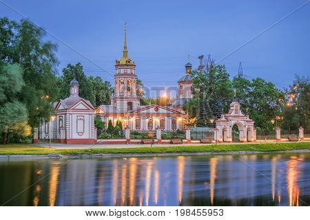 Temple of the Exaltation of the Cross of the Lord in Altufevo. Moscow