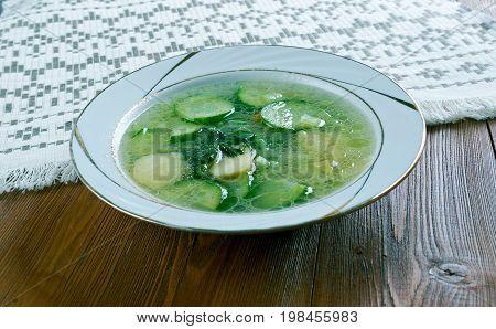 German Cucumber Soup