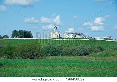 St. St. John convent  Arkhangelsk oblast. Russian North.