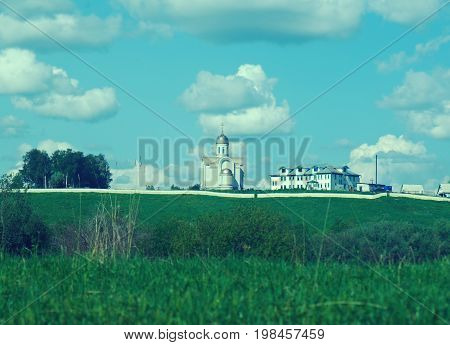 St. St. John convent.Arkhangelsk oblast. Russian North.