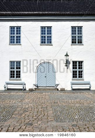 Old Norwegian house in Bergen