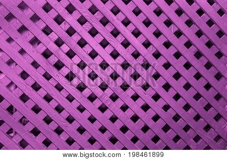 beautiful abstract view of a pink wooden fence fragment, background