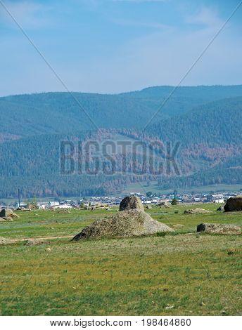 Ininsky rock garden , Buryatia barguzin valley  travel