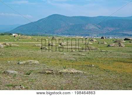 Ininsky rock garden ,   Russia Buryatia summer