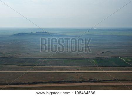 Saxon castle - rocks at Suvo village Barguzin valley Buryatia Russia