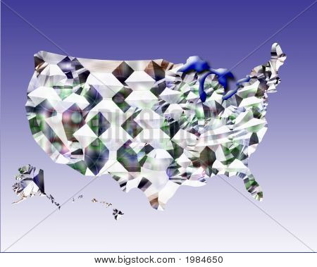 Map Of United States Usa