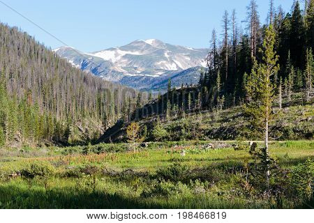 The Rocky Mountains of Colorado - The High Country