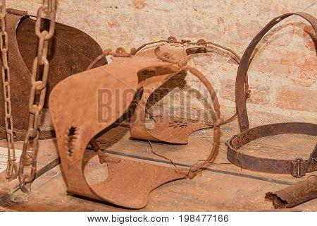 Medieval Chastity Belt for Women. Medieval Torture.