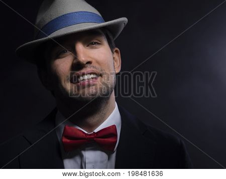 Handsome young fashion man