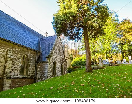 The St Kevin's Church, County Wicklow, Ireland