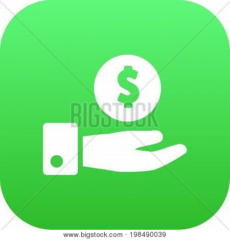 Vector Save Money Element In Trendy Style.  Isolated Savings Icon Symbol On Clean Background.