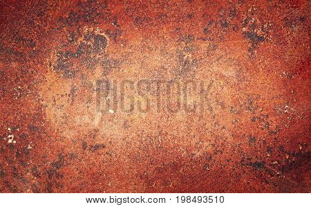 Abstract grunge rusty iron background close up