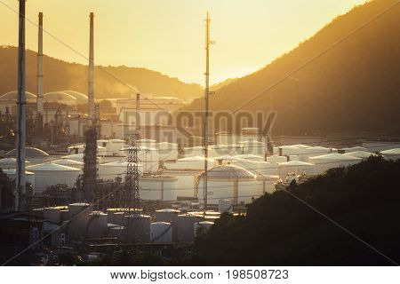 Oil Refinery factory industry industrial petrochemical petroleum