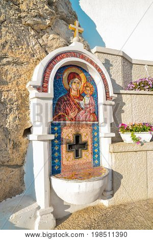 Mosaics In Ostrog Monastery,