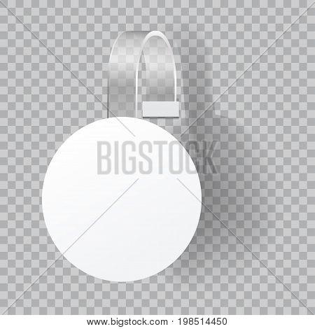 paper self adhesive supermarket label vector illustration