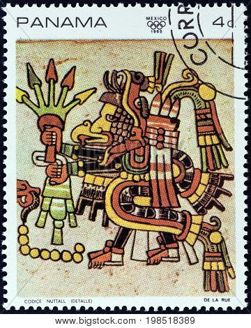 PANAMA - CIRCA 1968: A stamp printed in Panama from the