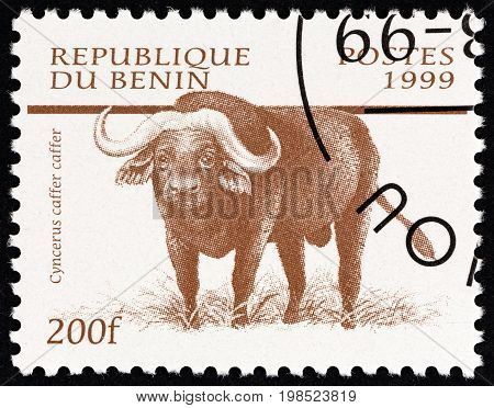 BENIN - CIRCA 1999: A stamp printed in Benin from the