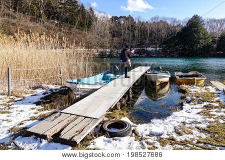 Mountain Scenery In Nikko, Japan