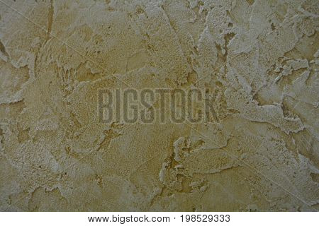 decorative textured plaster with the effect of antiquity