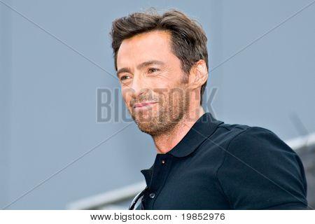 TEMPE, AZ - APRIL 27: Actor Hugh Jackman appears at the premiere of X-Men Origins: Wolverine on April 27, 2009 in Tempe, AZ.