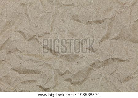 Brown wrinkle recycle paper for design and background
