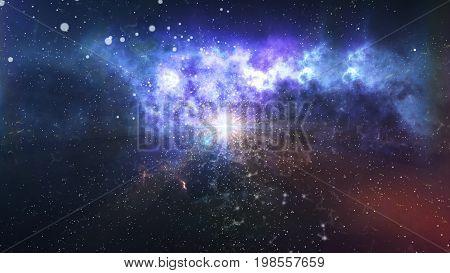 Initial Dark Matter Explosion Big Bang