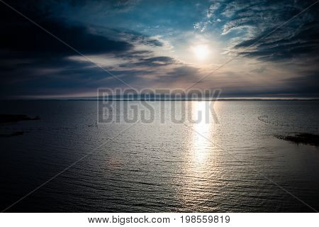 Dreverna Landscape Sunset