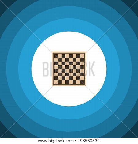 Chess Table Vector Element Can Be Used For Checkerboard, Table, Chess Design Concept.  Isolated Checkerboard Flat Icon.