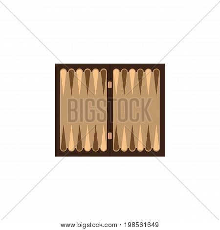 Dice Vector Element Can Be Used For Dice, Backgammon, Table Design Concept.  Isolated Backgammon Flat Icon.