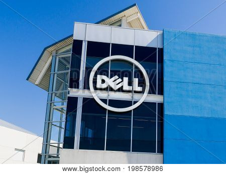 Dell Computer Coporate Facility And Logo